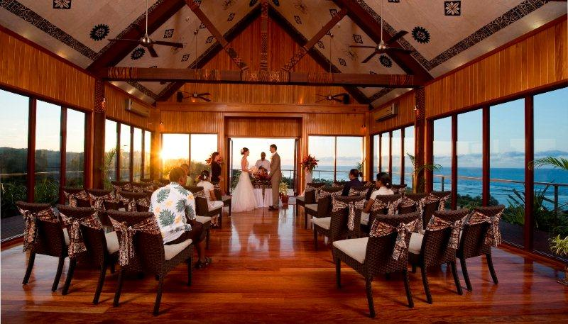 Bure Ni Loloma Wedding Chapel - Outrigger on the Lagoon Fiji