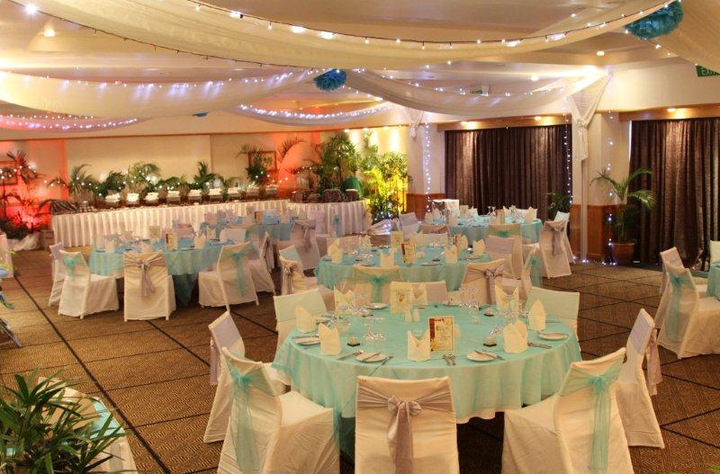 Reef Ballroom Private Reception Reef - Outrigger on the Lagoon Fiji