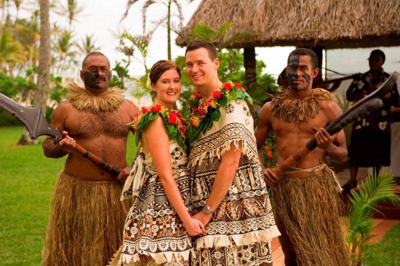Traditional Wedding - Outrigger on the Lagoon Fiji