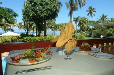View @ Ocean Terrace Restaurant at Bedarra Beach Inn