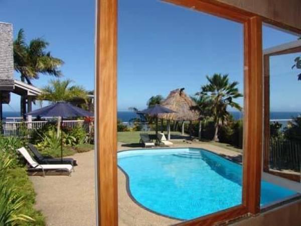 Delana House guest villa, Fiji