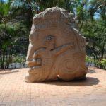 Rock carvings by Felipe Rogoruwai