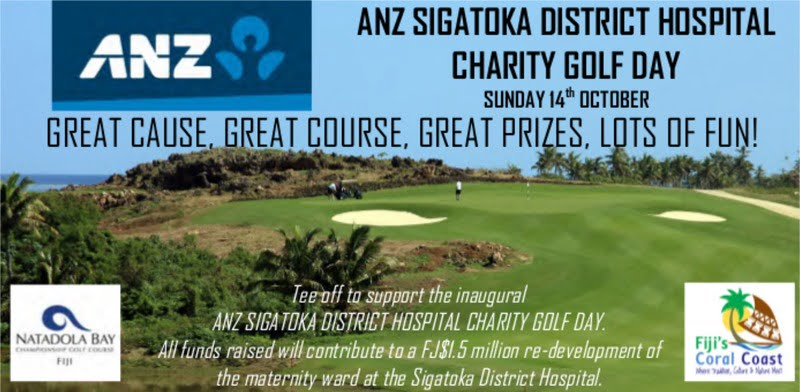ANZ Sigatoka District Hospital Charity Golf Day