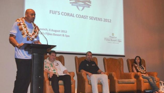 Jonah Lomu, has confirmed his attendance at Fiji's Coral Coast Sevens in November