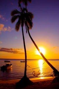 Sun Set Mango Bay