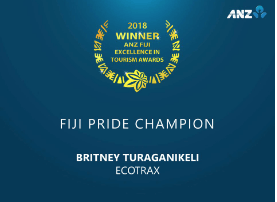 Ecotrax wins at ANZ Fiji Excellence in Tourism Awards (FETA) 2018