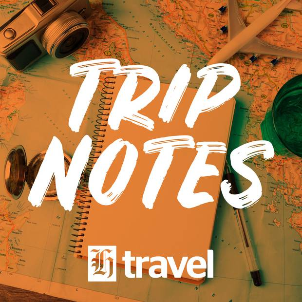 Herald Travel's Trip Notes podcast is available at iHeartRadio, or wherever you get your podcasts. Photo / Supplied