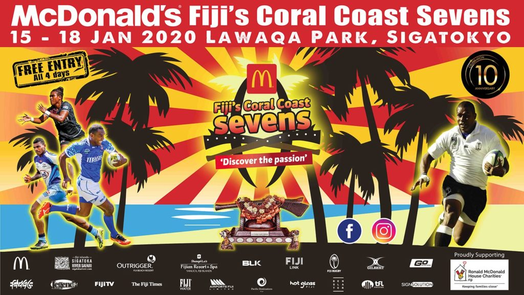 10th McDonald's Fiji Coral Coast Sevens
