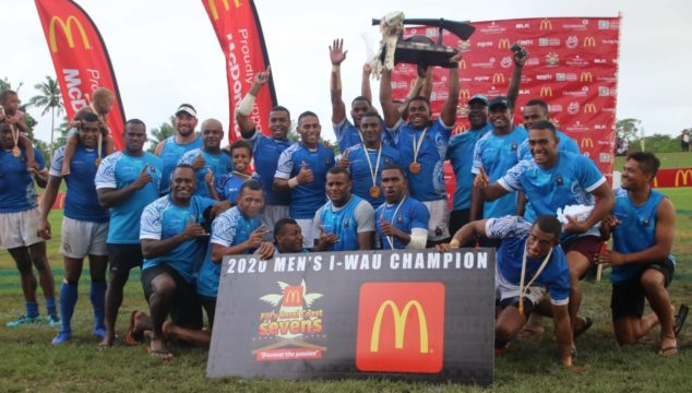 Police Blues Retain McDonalds Coral Coast Sevens title in 2020